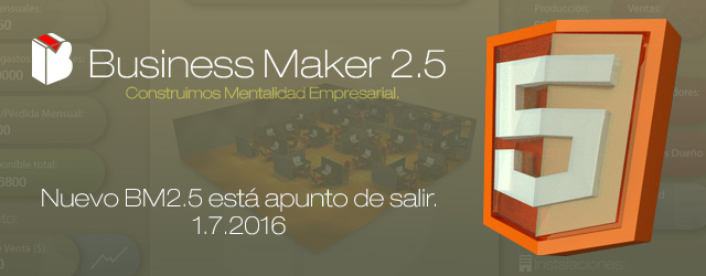 Juego gerencial Business Maker 2.5