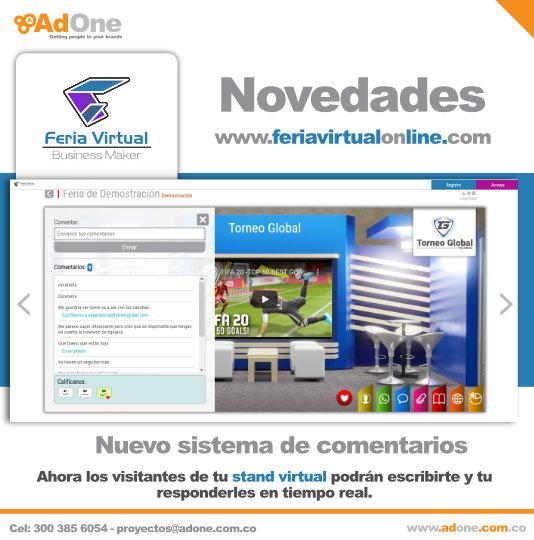 Novedades Feria Virtual Business Maker